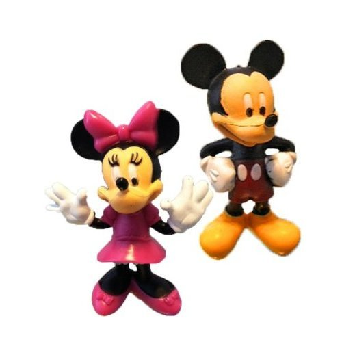 Mickey and Minnie Mouse Figurine Set