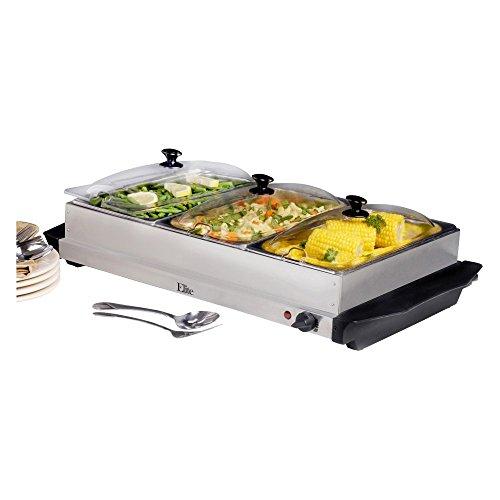 Maxi-Matic Elite Platinum 7.5 qt. Stainless Steel Buffet Server (Elite Platinum Buffet Server compare prices)