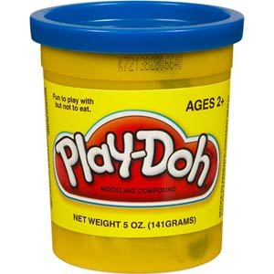 Play-Doh Single Can - Dark Blue