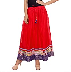 ceil women's skirt (red)