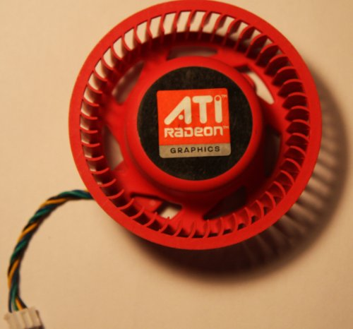 New ATI Video Card HD 4870 5970 5870 5850 4890 5450 5650 4350 Replacement 75mm fan