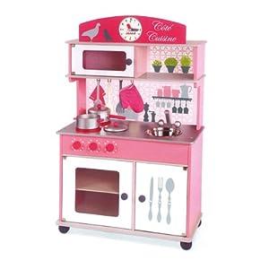 Janod j06565 jouet en bois cuisine cote cuisine jeux et jouets for Cuisine bois jouet
