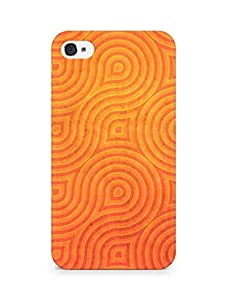 Amez designer printed 3d premium high quality back case cover for Apple iPhone 4s (Wheels rotation texture background)