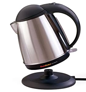 Chef'sChoice Cordless Electric Kettle - Stainless Black
