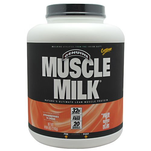 Cytosport Muscle Milk,Strawberry & Creme 4.94Lb