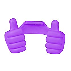 WireFox Thumbs Up Stand Holder For Tablet, Mobile & Gps Holder (Purple) 1 Year Warranty