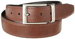 Nautica Men's Reversible Belt,Brown/Black,32
