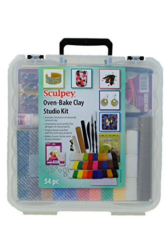 Sculpey Oven bake clay studio kit, 54pc (Sculpey Oven Bake Clay Kit compare prices)