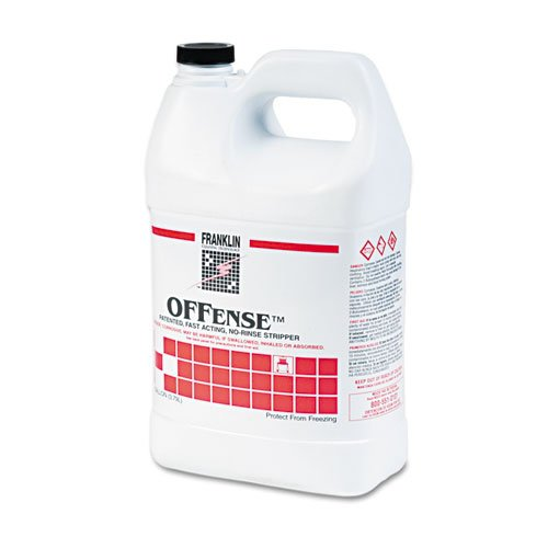 Franklin Cleaning Technology® – OFFense Floor Stripper, 1 gal. Bottle – Sold As 1 Each – Penetrates quickly and dissolves difficult-to-remove floor finish buildup.