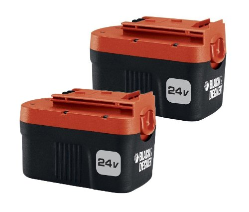 Black & Decker 24-Volt Battery 2 Pack HPNB24-2