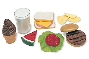 Learning Resources P and Play Lunch Foods Basket