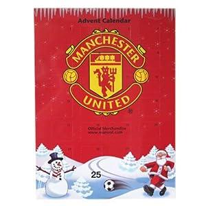 manchester united f c advent calendar with. Black Bedroom Furniture Sets. Home Design Ideas