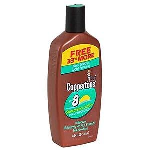 Coppertone Sunscreen Lotion, SPF 8 (8 fl oz)