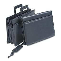 STB251210BLK - Stebco Carrying Case (Briefcase) for Document, Accessories - Black