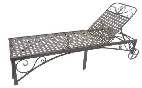 Rollliege-Metall-dunkelbraun-Liege-Sonnenliege-L-200-cm-Relaxliege