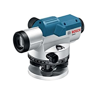 Bosch GOL26CK 26x Optical Level Kit with Tripod and Rod