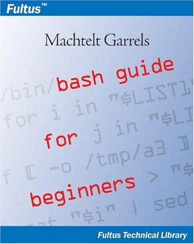 Large book cover: Bash Guide for Beginners