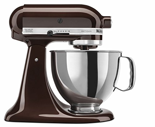Artisan Series 5 Qt. Stand Mixer with Pouring Shield Color: Espresso