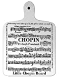 Chopin - Music Chopping Board for Music Lovers
