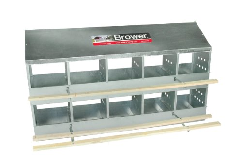 Brower 410B Poultry 10-Hole Nest image