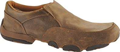 Twisted X Boots Men's MDMS001 Slip-on Shoes,Bomber,7 M US