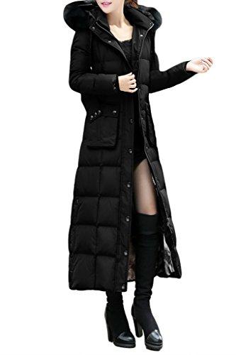 dcc3837b9 XIAOLV88 Women's Slim Duck Down Snow Winter Warm Long Down Coat ...