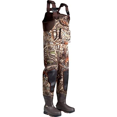 Rocky Mens Waterproof Waterfowler MudSox 800G Insulated Chest Wader-4790 by Rocky
