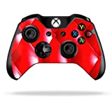Protective Vinyl Skin Decal Cover for Microsoft Xbox One Controller Sticker Skins Red Upholstery