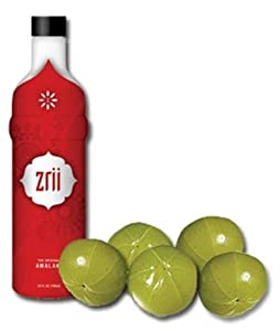 Zrii Liquid Dietary Supplement made with the Amalaki Fruit