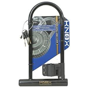knox lock defender bicycle u lock long with bracket bike locks sports outdoors. Black Bedroom Furniture Sets. Home Design Ideas