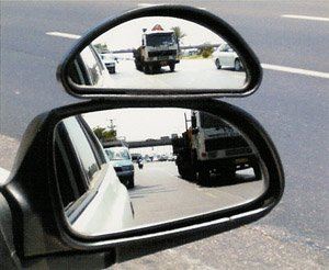 Auxilary Wide-Angle Side-View Mirror (Medium) from Hercules