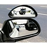 Auxilary Wide-Angle Side-View Mirror (Medium) ~ Hercules