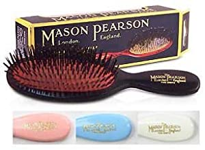 Mason Pearson Brushes Pure Bristle Pocket B4 Blue