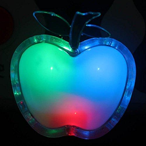 LED-Nachtlicht-Apfel-Notlicht-Steckdosenlicht-Nachtlampe-Schmetterling-Nachtlicht-LED-Nachtlicht-mit-Regenbogen-Effekt-und-ein-aus-automatische-APPLE