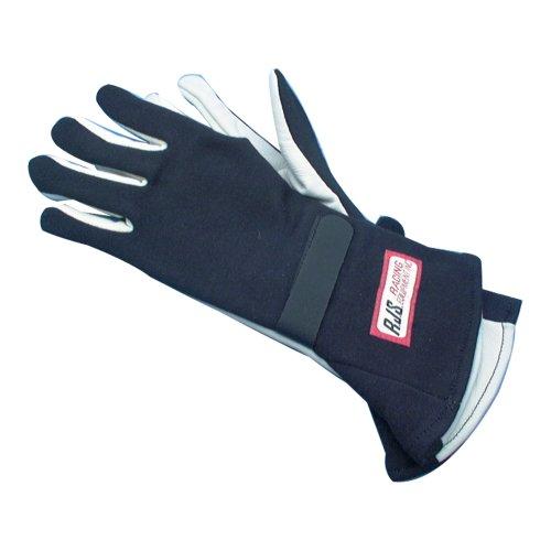 RJS Racing 20213M Black Medium Nomex Single Layer Gloves