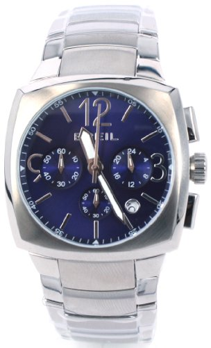 Breil Men's Rod Quartz Watch TW0768 with Blue Chronograph Dial, Date, Stainless Steel Case and Bracelet