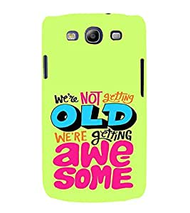 PrintVisa Birthday Quotes Design 3D Hard Polycarbonate Designer Back Case Cover for Samsung Galaxy S3 Neo