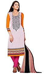 Shree Vardhman Crepe Unstitched Dress Material