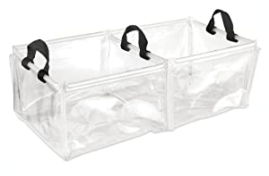 Gelert Double Wash Bowl - Clear (Old Version)