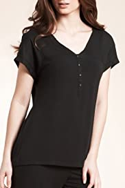 Autograph Short Sleeve Pyjama Top [T37-4256-S]