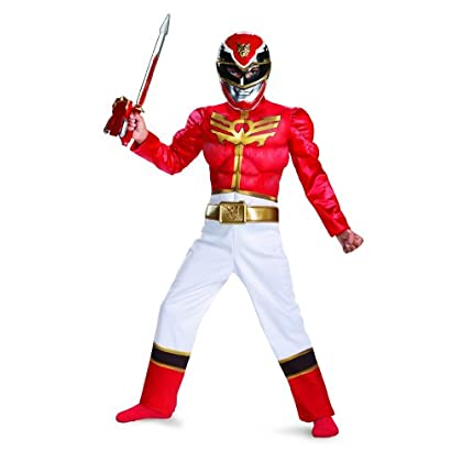 price disguise power ranger megaforce red ranger boy s muscle costume 4 6 divinetroby google sites