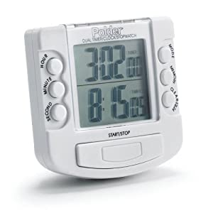Ordinaire [GEAR] Kitchen Timers   Polder Dual Timer/Stopwatch ...