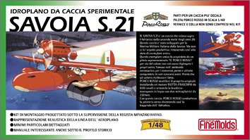1/48 Savoia S.21 from Porco Rosso Airplane first edition