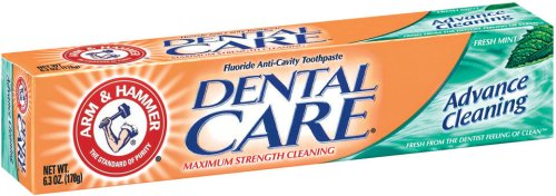 Arm & Hammer Dental Care Fluoride Toothpaste,