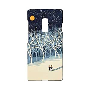 BLUEDIO Designer 3D Printed Back case cover for Oneplus 2 / Oneplus Two - G0621