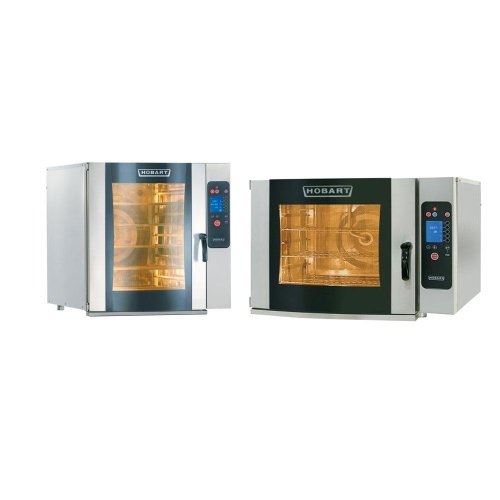 Hobart Ce10Hd-1 / Ce6Hd-1 Electric Half Size Combi Ovens - Stacked