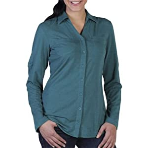 ExOfficio Ladies Go-To Shirtigan Shirt by ExOfficio