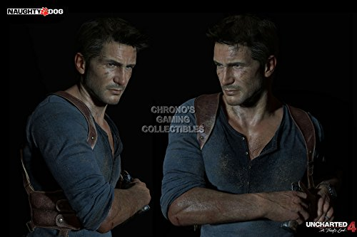 """CGC enorme-Poster Uncharted 4Nathan Drake PS4Xbox One-ext432, Carta, 24"""" x 36"""" (61cm x 91.5cm)"""