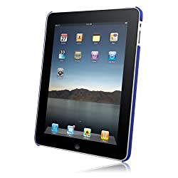Rubberized SnapOn Cover for Apple iPad - Dark Blue