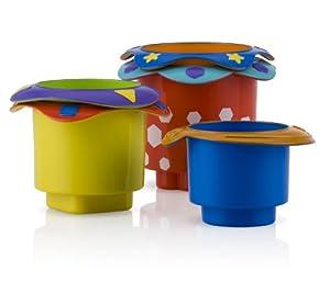 Nuby Splish Splash Stacking Cups